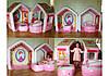 Детский игровой центр - надувной раскладной дом принцессы Intex 48635, фото 4