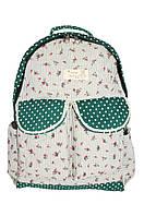 Рюкзак женский 6701-зел