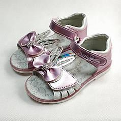 Детские босоножки сандалии сандали для девочки розовые ушки cbt.t 27р