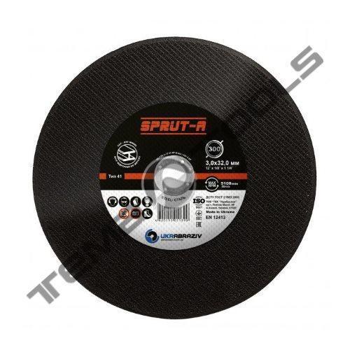 Круг відрізний по металу SPRUT-A 350x3,5x25,4 для верстатів (рейкоріз)