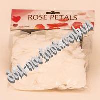 Лепестки роз (белые)