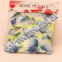 Лепестки роз (голубые)