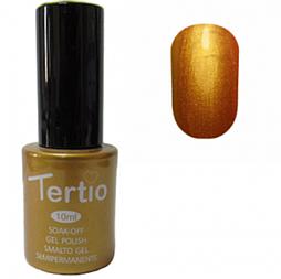 Гель-лак Tertio № 021 (золотистий з микроблеском)