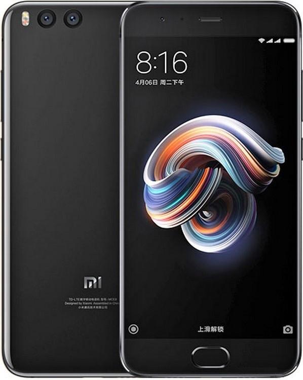 Смартфон Xiaomi mi Note 3 6/64 Black Global