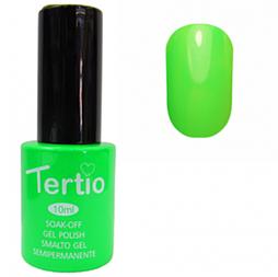 Гель-лак Tertio № 022 (неоновий зелений)