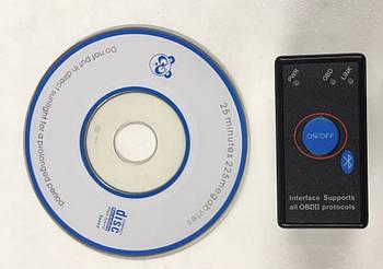 Сканер автомобильный диагностический ELM327 V1.5 AUTOOL Mini Bluetooth PIC18F25K80 Android Diagnostic Scanner