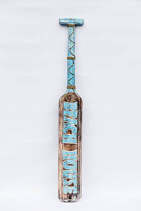 Весло декоративное длина 1м