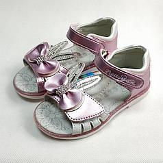 Детские босоножки сандалии сандали для девочки розовые ушки cbt.t 28р