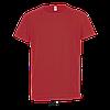 Детская спортивная футболка, красный, SOL'S SPORTY KIDS от 6 до 12 лет, фото 2