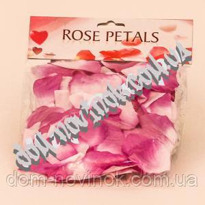 Лепестки роз (сиренево-белые)