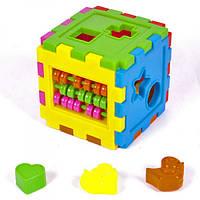 Логический куб-сортер со счётами