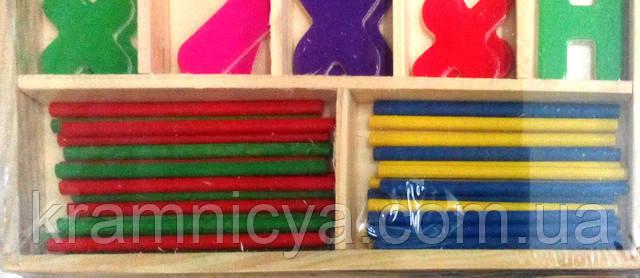 Счётные палочки для детей дошкольного возроста . Купить в интерент-магазине Крамниця Творчості
