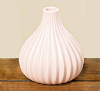 Ваза Вильма цветная керамика h14d8cm 1002074