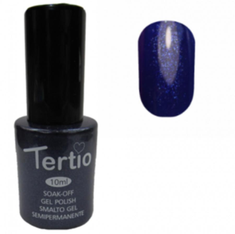 Гель-лак Tertio № 030 (ультрамариновый с микроблестками)