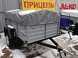 Прицеп бортовой Кремень+ КРД 050122 усиленный, фото 4