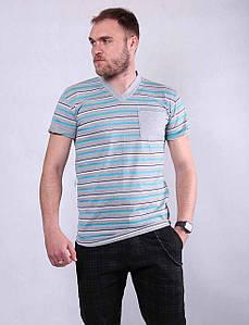 Мужская трикотажная футболка р.48-60