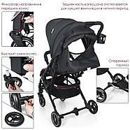 Прогулянкова дитяча коляска-книжка ME 1039L IDEA Rose Gray Гарантія якості Швидкість доставки, фото 4