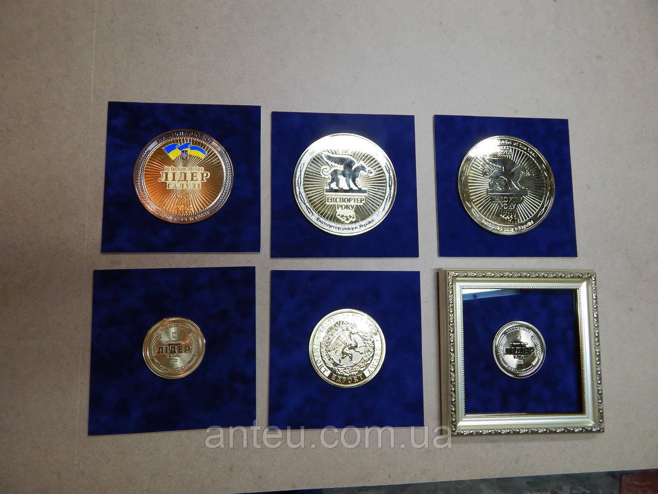 Оформление медали в рамку heritage auctions
