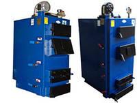 Котел длительного горения работающий на твердом топливе Идмар серии GK-1 мощностью 17 квт