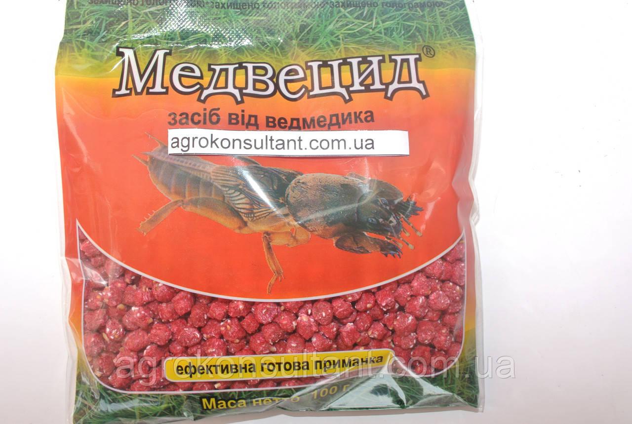 Медвецид, 100 г - от медведки, садовых муравьев.