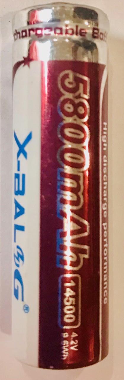 Аккумулятор литиевый Li-ion 3.7V 14500 3000 mAh