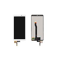Дисплей (модуль) Xiaomi Redmi 6 с сенсором (тачскрином) White