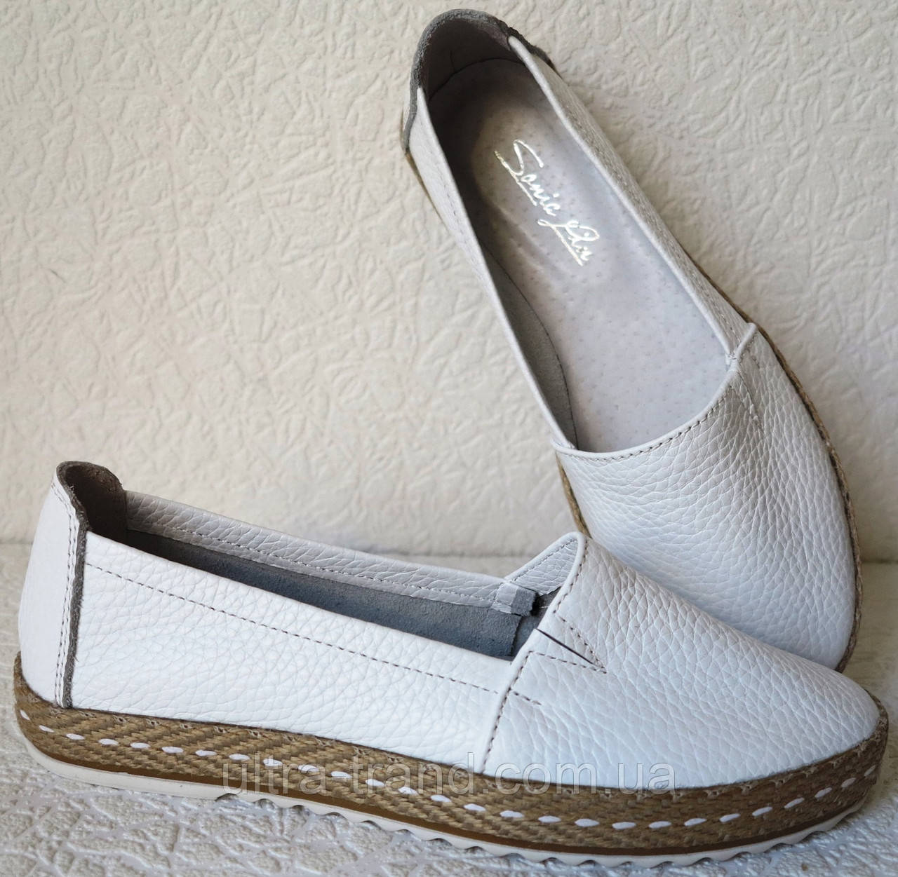c9c4e71c7 Кожаные слипоны для девочек и девушек мокасины туфли универсальные -  Интернет магазин Ultra-