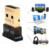 Мини USB Bluetooth адаптер 4.0 для ноутбука, компьютера