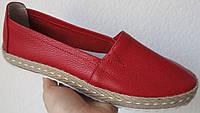 Sonia! Кожаные слипоны для девочек и девушек мокасины туфли универсальные, фото 1