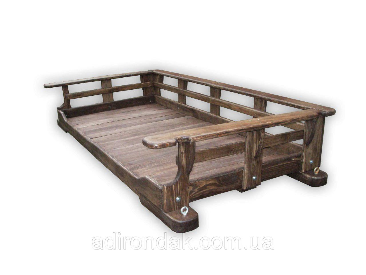 Подвесная кровать, Качеля