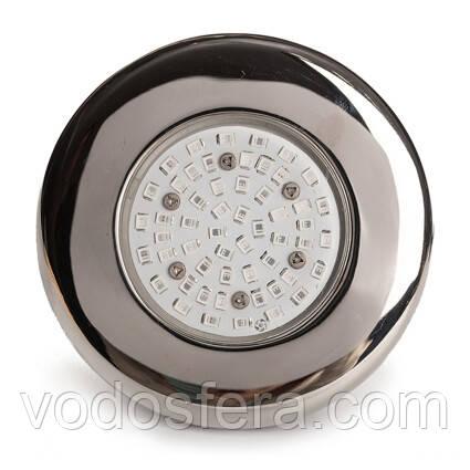 Aquaviva Прожектор светодиодный AquaViva LED203 54LED (5Вт) RGB, стальной