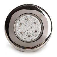 Aquaviva Прожектор светодиодный AquaViva LED203 54LED (5Вт) RGB, стальной, фото 1