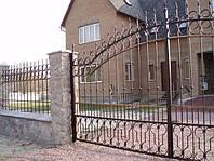 Кованые ворота art:03kv72