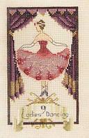 Схема для вышивки Nine Ladies Dancing Nora Corbett Designs