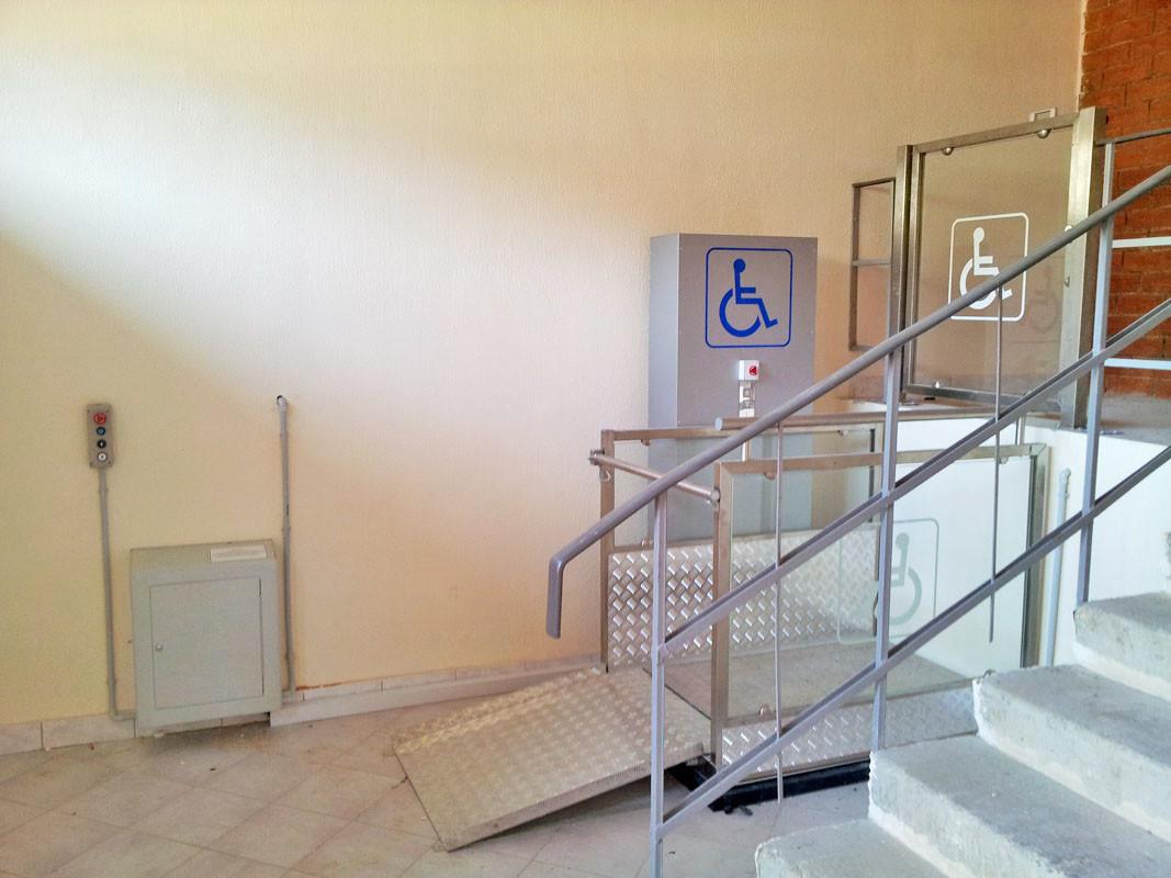 Подъемник инвалидный для колясок