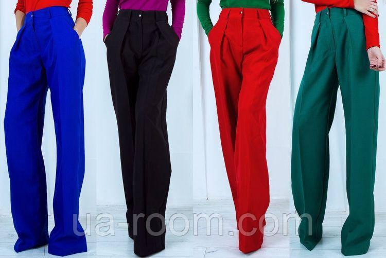 Женские брюки из габардина №545