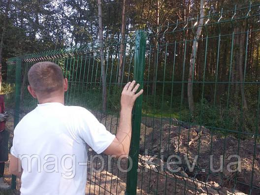 Ограждение спортивных площадок (высота 4м) для баскетбола 15х28-4м, фото 2