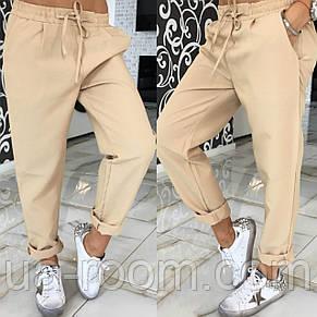 Женские брюки из габардина №544, фото 2