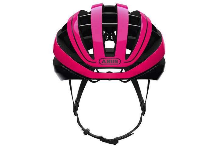 Шолом велосипедний ABUS AVENTOR L Fuchsia Pink, фото 3