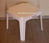 Столик кофейный пластиковый Irak Plastik, Турция белый