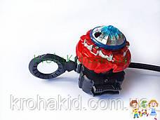 BeyBlade Ace Dragon 3 в1 В-133 / Бейблэйд Эйс Драгон / Ледяной дракон (красный, черный, белый) Flame, фото 3
