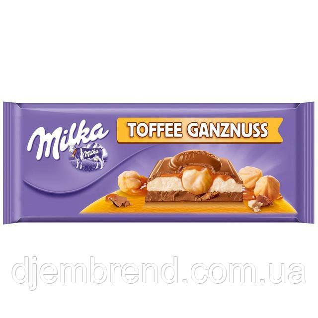 Шоколад Милка с Тоффи