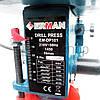 Сверлильный станок настольный Erman DP 101 с тисками, вертикально сверлильный станок по дереву, фото 5