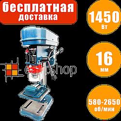 Сверлильный станок настольный Erman DP 101 с тисками, вертикально сверлильный станок по дереву