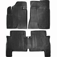 Коврики в салон для Hyundai Santa Fe 2006-2010 /5мест/черный, кт - 4шт 11164 Avto-Gumm