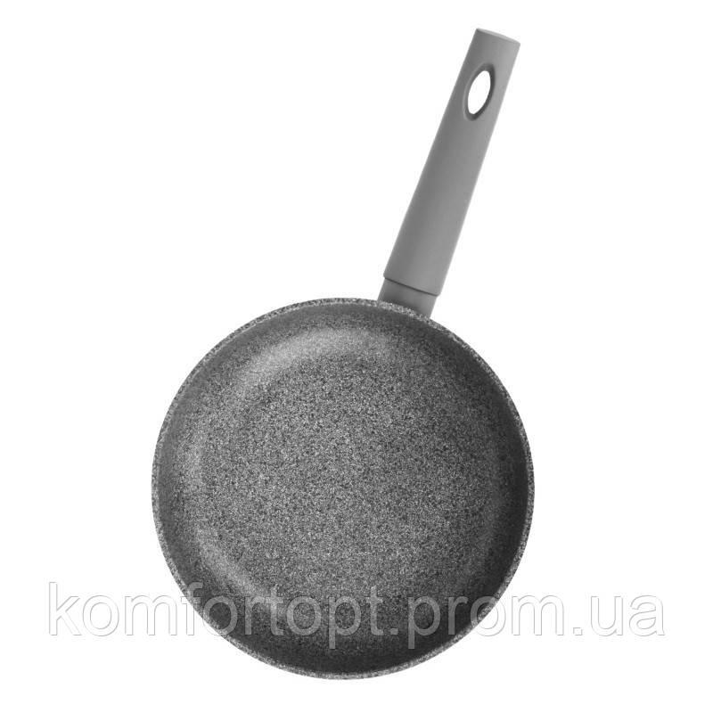 Сковорода БИОЛ Granite Gray  ручка SoftTouch 24 см