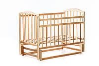 """Детская кроватка """"Чайка NEW"""" ( натуральный лак ), фото 1"""