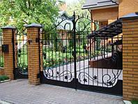 Кованые ворота art:03kv73