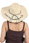 Шляпа женская с надписью, фото 2