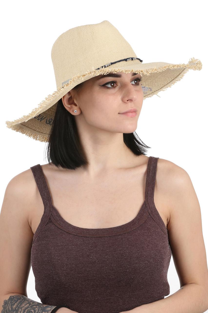Шляпа женская с надписью